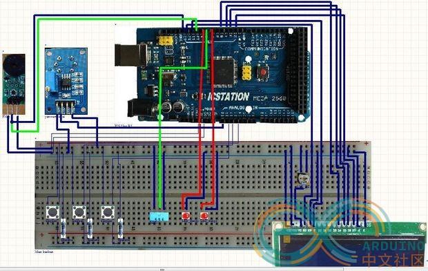 温度湿度烟雾报警传感器系统-arduino中文社区图片
