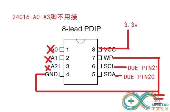 arduino DUE读写外置EEPROM Arduino中文社区 Powered by Discuz
